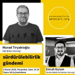 Murad Tiryakioglu, Surdurulebilirlik Gundemi, Afet Bilinci Derneği