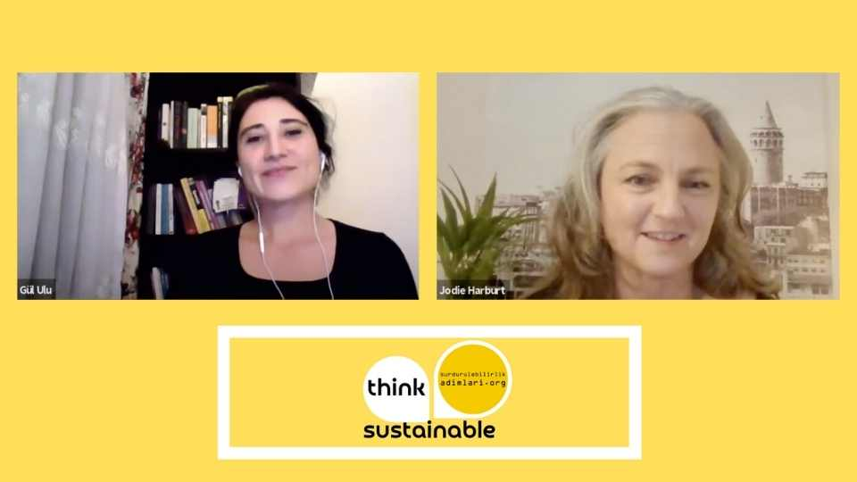 Think Sustainable: Jodie Harburt, Cooking Up Dialogue