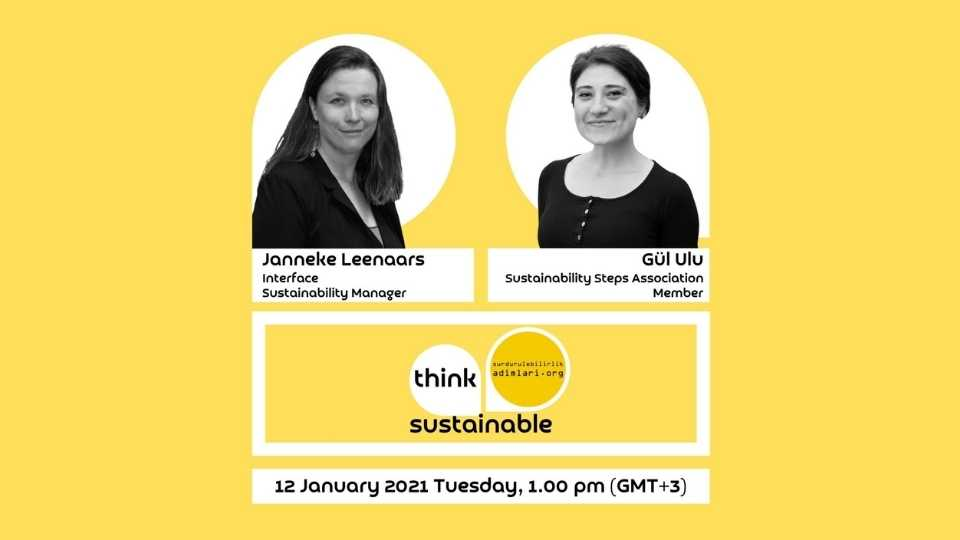 Think Sustainable Janneke Leenaars Interface Sustainability Manager