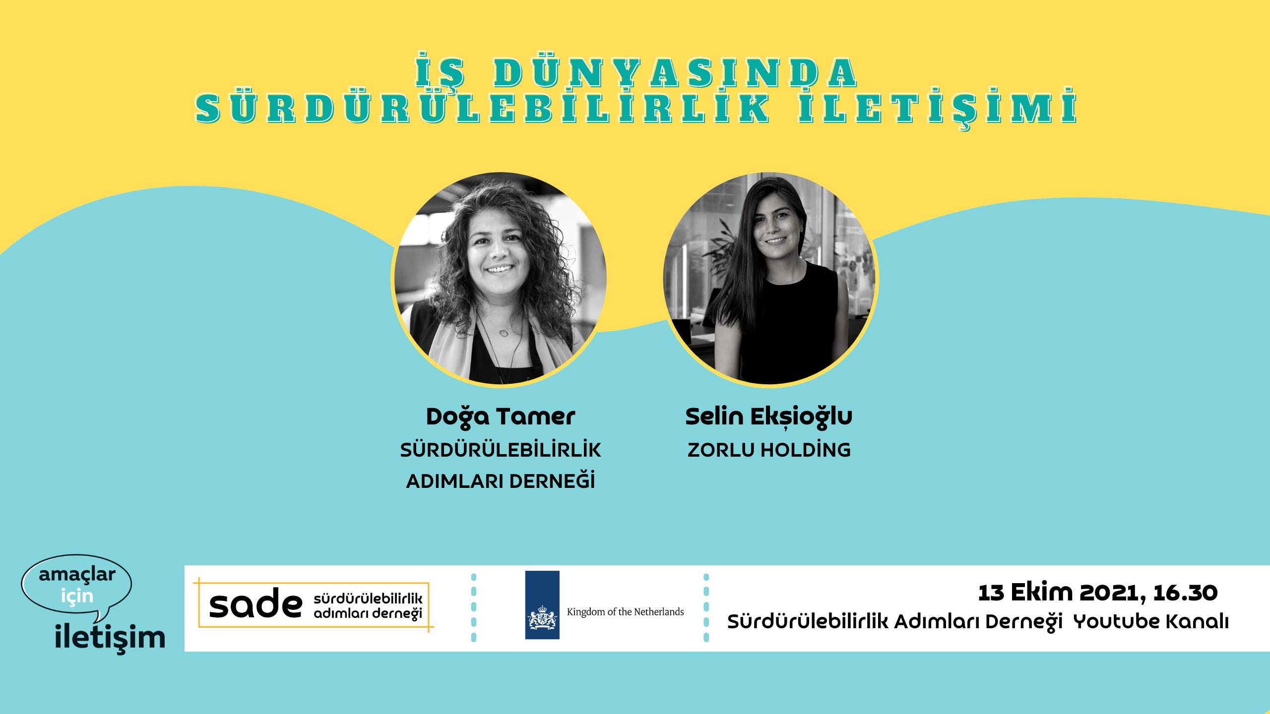 İş Dünyasında Sürdürülebilirlik İletişimi: Selin Ekşioğlu, Zorlu Holding